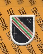 5th Special Forces Group Airborne SFGA Task Force Dagger beret flash patch m/e
