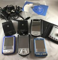 5 Palm Pilot Handheld PDAs w/Chargers/Stylus/Software Various Models Repair H26