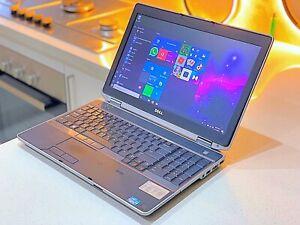 "DELL E6520 Intel®Core™i5-2.50GHz-320GB-WIN10Pro-NVIDIA NVS-HDMI-15.6""LED#155"