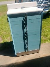 Dentist / Dental Cabinet Art Deco Mid Century Modern Storage Vintage Antique
