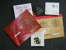 More details for royal mint uk proof half sovereign certificates 1980 to 2021 - choose your year