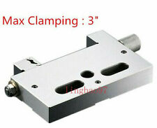 """Wire Edm Cut High Precision 75mm Vise Stainless Steel 3"""" Jaw Opening 3 Kg Clamp"""