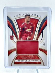 🔥 Mason Greenwood 2020 Immaculate MW Rookie Patch  #59/99 Manchester United 🔥