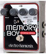 Electro Harmonix Memory Boy Analog Delay Chorus Vibrato w/ Power Supply - NEW
