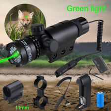 Red/ Green Dot Laser Sight Airsoft Gun Rifle Mount Tactical Hunting Scope Switch