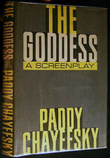 1958 PADDY CHAYEFSKY THE GODDESS COMPLETE TEXT AND WORKING SCRIPT WITH DJ 1st ED
