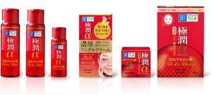 Rohto Hada labo Gokujyun Alpha 3D Anti-Aging Toner, Face Cream, Eye Cream Japan