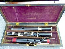 Antique wooden flute by Pearson, London. #980