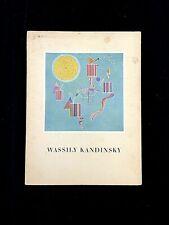 WASSILY KANDINSKY, COULEURS & SONS . GROHMANN . ARTS & MÉTIERS GRAPHIQUES 1957
