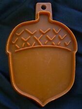 Hallmark Cookie Cutter Acorn Nut Autumn Fall Season Thanksgiving 1975 Stencil