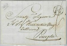 LOMBARDO VENETO  storia postale - PRECURSORI busta prefilatelica: MILANO C1 1847