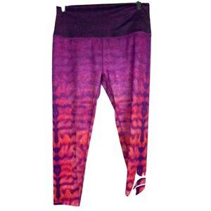 loco skailz leggings purple pink juniors size L