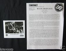 BLACK TRAIN JACK 'NO REWARD' 1993 PRESS KIT--PHOTO