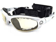 HARLEY DAVIDSON switchable GLIDE sunglasses SILVER/ Day 2 Night HDSZ909 SI-D2N
