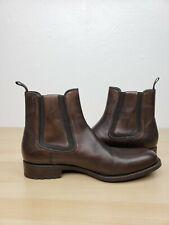 EUC Massimo Emporio Mens Chukka Boots Size 11.5 Dark brown Vero Cuoio