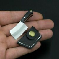 Mini Stainless Steel Folding Pocket Knife Keychain Ring Blade Outdoor Survival