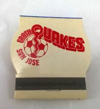 1975 NASL San Jose Earthquakes *VINTAGE*  Matches + Schedule Inside 975 San Jose