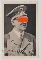 Germany REICH 1939 POSTCARD USED POLITICAL SPECIAL BIRTHDAY MARKING HISTORY