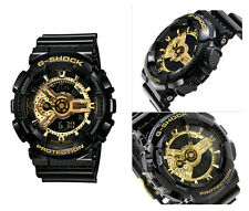 New Casio Men's G-Shock GA110GB-1A Resin Quartz  Black/Gold Watch