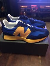 New Balance 327 'Marine Blue Yellow' Men's Size 12 BRAND NEW [MS327CLB]