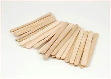 "1000 POPSICLE STICKS / CRAFT STICKS - 4-1/2"" x 3/8"" - BULK / NEW / WOOD"