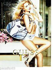 PUBLICITE ADVERTISING 116  2011   Guess  maroquinerie collection sac
