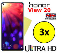 3x ULTRA HD CLEAR SCREEN PROTECTOR COVER FILM GUARD FOR HONOR VIEW 20