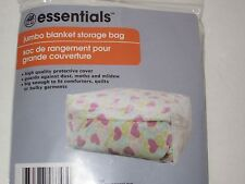 Jumbo Blanket Storage Bag - Comforter Protective Cover, Quilts, Dry, Winter Coat