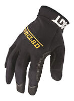 Ironclad  Black  Men's  Large  Synthetic Leather  Work  Gloves