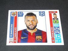 418 DANI ALVES BARCELONA PANINI FOOTBALL UEFA CHAMPIONS LEAGUE 2014-2015