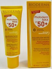 Bioderma Photoderm max spf 50+ dry touch tinted aquafluid sensitive skin 40 ml