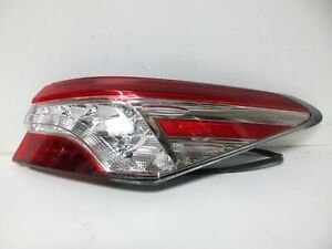 18-20 TOYOTA CAMRY RIGHT HAND TAIL LIGHT LED SMALL CHIP PASSENGER SIDE RH
