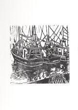 Linocut Paper Original Art Prints