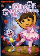 Dora the Explorer: Dora's Ballet Adventures (2011, DVD NUEVO) (REGION 1)