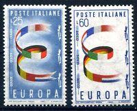 ITALIA 1957 - EUROPA SERIE   NUOVA **