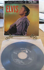 """ELVIS PRESLEY 1956 4-TRACK 7"""" PICTURE SLVE EP 993II so glad old shep ready teddy"""