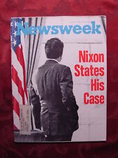 NEWSWEEK June Jun 4 1973 6/4/73 NIXON STATES HIS CASE + Great BIRTHDAY gift!
