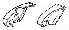 Ford Rear Frame Horn Cover SET - Steel 32 1932