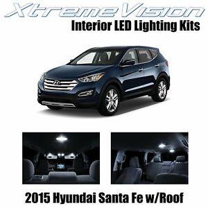 XtremeVision Interior LED for Hyundai Santa Fe 2015+ (9 PCS) Pure White