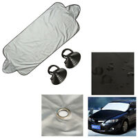 Car Windscreen Cover Anti Snow Frost Ice Shield Dust Protector Heat Sun Shade JX