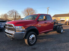 2014 Ram 5500 Cab & Chassis Used 4X4 Cummins 6.7L Diesel Automatic Crew Cab Nice