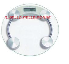 BILANCIA PESA PERSONE  DIGITALE ELETTRONICA IN VETRO FINO A 150 KG PROFESSIONALE