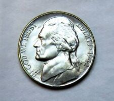 1942-S silver Jefferson Nickel__BU / MS__part of whole set listed