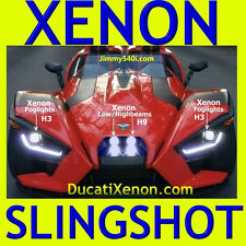 "1 set of *XENON LIGHTS* for POLARIS SLINGSHOT (H9 ""OR"" H3) - - - DucatiXenon.com"