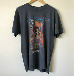 JIMI HENDRIX Mens Grey TShirt Sig Series29 Hard Rock Cafe San Francisco Size XL