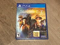 Shenmue I & II 1 2 PlayStation 4 PS4 Brand New Factory Sealed