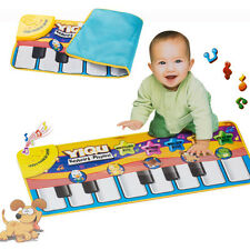 1Pc Touch Play Learn Singing Piano Keyboard Music Carpet Mat Blanket Baby Toy