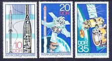 Germany DDR 1898-1900 MNH 1978 Space Rocket Achievements in Atmospheric Research