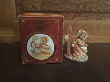 1995 Enesco Priscilla Hillman Hot Cross Buns Mouse Tales Figurine with Box