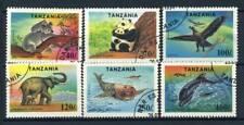 Tanzania 1994 Mi. 1775-1780 Usato 100% Animali, Protezione Natura
